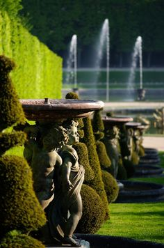 ** Palace of Versailles, France. - ** Palace of Versailles, France. Versailles Garden, Chateau Versailles, Palace Of Versailles, Formal Gardens, Outdoor Gardens, Formal Garden Design, Grand Parc, Palace Garden, Parks