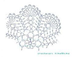 Crochet Doily Diagram, Crochet Motif Patterns, Crochet Mandala, Crochet Chart, Crochet Doilies, Crochet Flowers, Crochet Stitches, Crochet Circles, Crochet Snowflakes