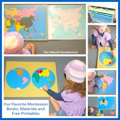 Our Favorite Montessori Books, Materials & Free Printables