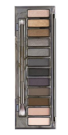 Obsessing over this Urban Decay 'Naked' Palette that creates the perfect smokey eye. It's loaded with gorgeous shades that can be mixed and matched for a variety of looks. Smokey Eyeshadow Palette, Smoky Palette, Naked Palette, Makeup Tips, Beauty Makeup, Hair Makeup, Makeup Eye Looks, Makeup Obsession, Eye Make Up