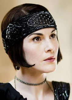 Michelle Dockery as Lady Mary Crawley, Downton Abbey