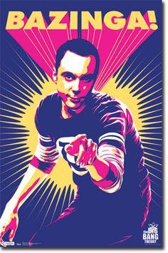 Big Bang Theory - Sheldon Poster