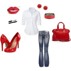 Sexy and Casual, created by monroe5150.polyvore.com