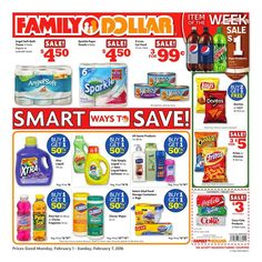Family Dollar Weekly ad February 2 - 7, 2016 - http://www.olcatalog.com/grocery/family-dollar-weekly-ad.html