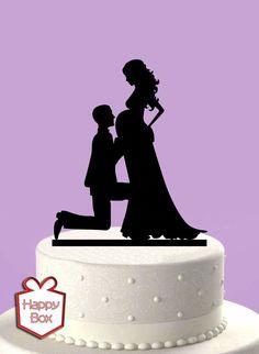 Adorno Para Torta Casamiento Acrilico Cake Topper Boda - $ 230,00 en MercadoLibre