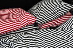 Marimekko jersey striped duvets