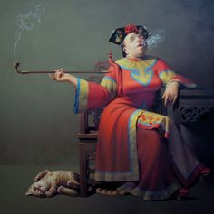 artist Liu Baojun Born in Dan Dong city in 1963, Liaoning Province, China