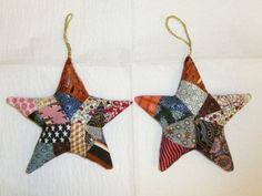 Really neat scrappy star ornament - Homesteading Today