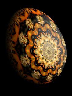 Fractal Art - Egg 17