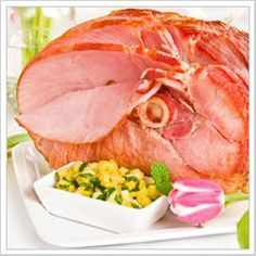 the perfect ham dinner for Easter - easy instructions for preparing/cooking a variety of hams