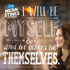 meanstinks:  Wouldn't life be boring if we were all the same? Secret Mean Stinks thinks you should strut your stuff and let others do the same.
