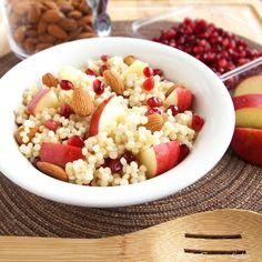 Couscous Apple Pomegranate Salad | My San Francisco Kitchen #Recipe #Food #Dinner