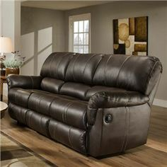 Montana Reclining Sofa Loveseat Simmons Shiloh Granite P Br And Leather With Don T Miss This