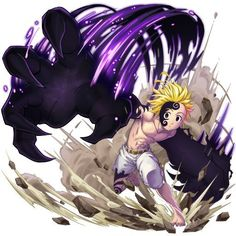 Nanatsu no Taizai - Meliodas in Full demon form Otaku Anime, Manga Anime, Seven Deadly Sins Anime, 7 Deadly Sins, Sonic Fan Characters, Anime Characters, Demon King Anime, Seven Deady Sins, Naruto Wallpaper