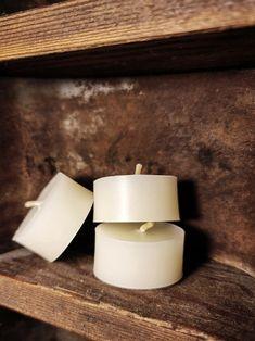 Tea Light Candles, Tea Lights, Beeswax Candles, Earthy, Joseph, Vintage Inspired, Candle Holders, Simple, Porta Velas