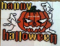 Happy Halloween  hama perler by deco.kdo.nat