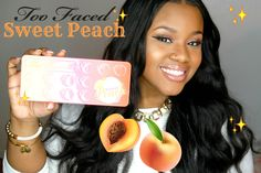 NEW Too Faced SWEET PEACH Palette | Tutorial & Swatches