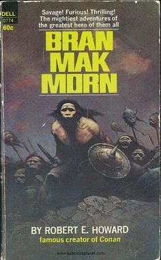 awesome classic sci-fi book cover Robert E. Howard Bran Mak Morn