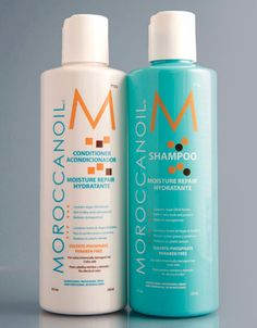Moroccan Oil Shampoo and Conditioner- makes your hair shiny and soft