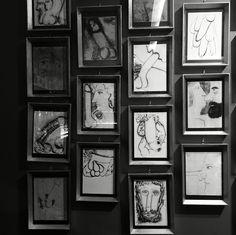 Art wall in L'eclaireur in Paris