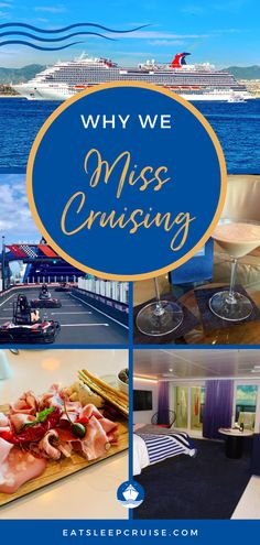 With cruising suspended, several of our planned cruises were cancelled and we miss it! Here we share 10 things we miss about cruising and the one thing we don't! From the ship and food to tips about what to do while we can't board our favorite ships or explore exciting destinations (like Alaska), you'll find something to dream about too. No matter your favorite cruise line (Disney, Royal Caribbean, etc.), check out our post and escape to another time. #CruiseVacation #Cruising #Cruise… Cruise Excursions, Cruise Destinations, Cruise Tips, Cruise Vacation, Caribbean Weather, Freedom Of The Seas, Cruise Ship Reviews, Cruise Pictures, Ocean Cruise