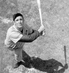 "Tigers first baseman Hank ""The Hebrew Hammer"" Greenberg"