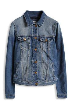 Esprit / Blød jakke i stretch-denim - 600 kr. http://www.esprit.dk/damejakker-frakker/bl%C3%B8d-jakke-i-stretch-denim-085EE1G054_902