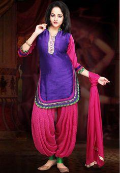 New Punjabi Patiala Salwar Kameez Designs 2015-2016 | BestStylo.com