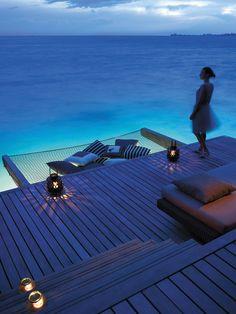 5 Star Shangri-La's Villingili Resort and Spa, Maldives. Maldives -- on my must visit top 10 list within the next 5 years Shangri La, Dream Vacations, Vacation Spots, Vacation Travel, Places To Travel, Places To See, Spa Luxe, Paradis Tropical, Water Villa