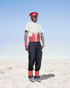 The Herero tribespeople of Namibia, Africa | Conflict And Costume | photographer Jim Naughten