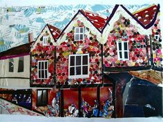Collage Work of Buildings