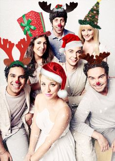 Merry Christmas and Happy Holidays from The Big Bang Theory