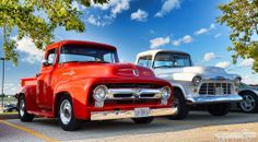 1956 Ford and Chevy Pickups
