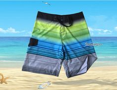 Beach Surf Trunks Board Shorts Surfing Swim Wear For Men Boardshorts Pant Swimwear Short Summer Quick-drying Shorts #Affiliate