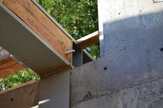 STRUCTURE-steel to concr. « home building in Vancouver Steel Beams, Steel House, Reinforced Concrete, Tool Storage, Building A House, Arch, Detail, Outdoor Decor, Budget