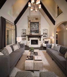 Model Home in Houston Texas, Fulbrook on Fulshear Creek 80s community