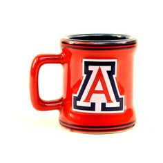 Arizona Wildcats NCAA Licensed Sculpted Ceramic Mini Mug Style Shot Glass (2 Oz.) * Tried it! Love it! Click the image. : Cat mug