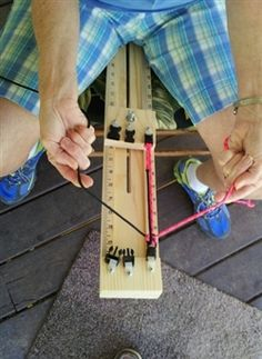 Paracord Jig for creating Paracord Bracelets