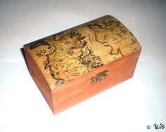 Game of Thrones inspired wooden box  Westeros by UrdHandicrafts, $29.00