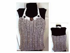CROCHET PATTERN Tank top vest tube top 4 STYLES in 1 by Hectanooga