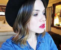 Mandy's Must-Haves: The Best Volume Spray, Perfect Red Lipstick, and More via @byrdiebeauty