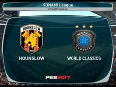 94a34d51431dd Pes2017 Konami league Custom world classico VS Hounslow