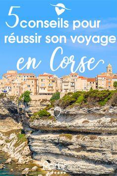 Retrouvez un concentré d'informations pour planifier au mieux votre voyage en Corse !