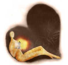 Lector: enamorado de la lectura (ilustración de Carme Girbés)