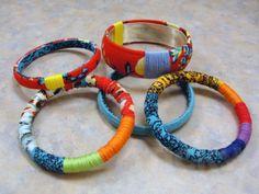 DIY-STYLE: Mettez à jour votre style avec ces facile de faire des bracelets en tissu de bricolage!