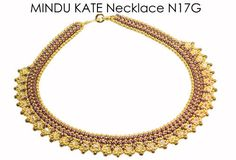 MINDU KATE SuperDuo Beadwork Necklace Beading Kit (Instruction and Materials)