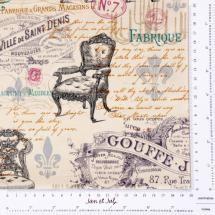 Preciosa tela de estilo victoriano con un toque vintage.  tienda online Jan et Jul patchwork: http://www.janetjul.com/telas/victorian-vintage