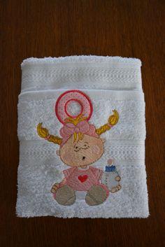 Baby handdoek (Baby towel)