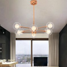 This magic beans pendant light comes with some glass ball, it's a better decorative light. You can purchase it from Homelava.com at a lower price. Contemporary Pendant Lights, Modern Chandelier, Pendant Lamp, Pendant Lighting, Lustre Metal, Fitted Bedrooms, Modern Magic, Made To Measure Curtains, Ball Lights
