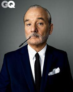 Bill Murray's GQ photoshoot. This man is my idol. - Imgur